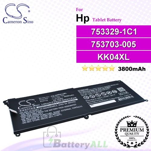CS-HPR612SL For HP Tablet Battery Model 753329-1C1 / 753703-005 / 775691-001 / HSTNN-IB6E / HSTNN-UB6E / KK04XL
