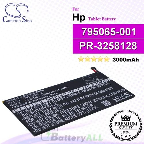 CS-HPS570SL For HP Tablet Battery Model 795065-001 / PR-3258128