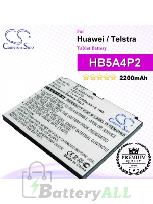 CS-HUS710SL For Huawei Tablet Battery Model HB5A4P2