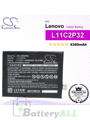CS-LVB600SL For Lenovo Tablet Battery Model L11C2P32