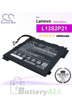 CS-LVM211SL For Lenovo Tablet Battery Model L13M2P23 / L13S2P21