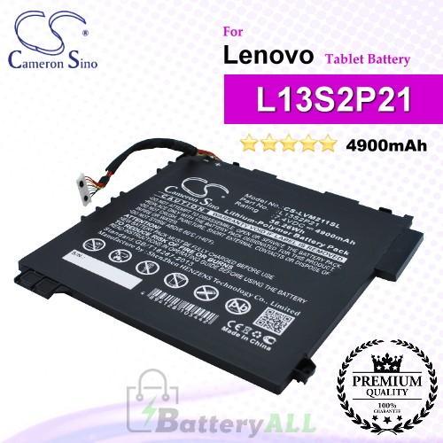 CS-LVM211SL For Lenovo Tablet Battery Model L13M2P23 / L13S2P21