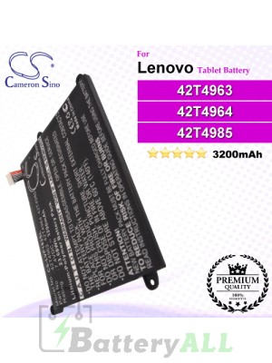 CS-LVP183SL For Lenovo Tablet Battery Model 42T4963 / 42T4964 / 42T4965 / 42T4966 / 42T4985