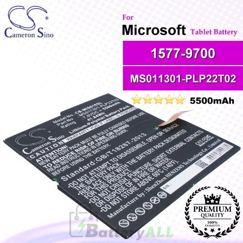 CS-MIS016SL For Microsoft Tablet Battery Model MS011301-PLP22T02 / 1577-9700