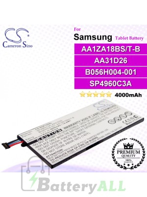 CS-SGP100SL For Samsung Tablet Battery Model AA1ZA18BS/T-B / AA31D26 / B056H004-001 / SP4960C3A