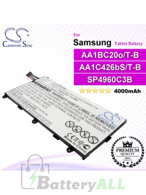 CS-SGP620SL For Samsung Tablet Battery Model AA1BC20o/T-B / AA1C426bS/T-B / SP4960C3B
