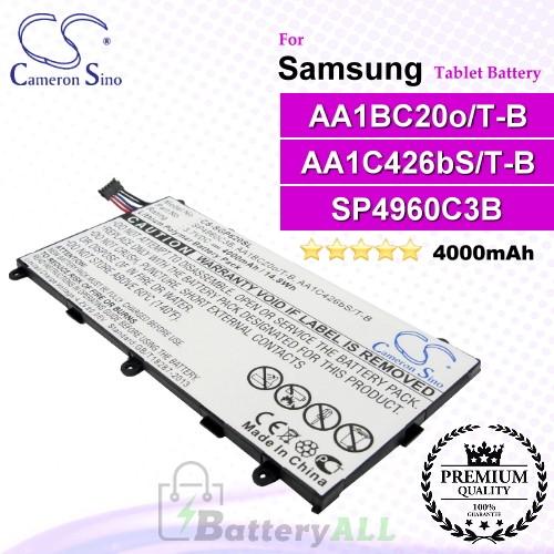 CS-SGP620SL For Samsung Tablet Battery Model AA1BC20o/T-B / AA1C426bS/T-B / SP4960C3B