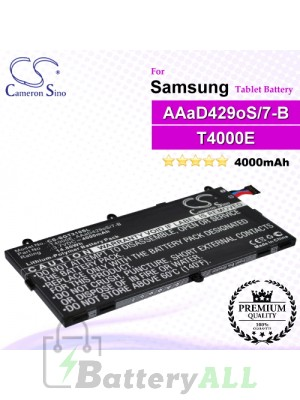 CS-SGT210SL For Samsung Tablet Battery Model AAaD429oS/7-B / GH43-03911A / T4000E
