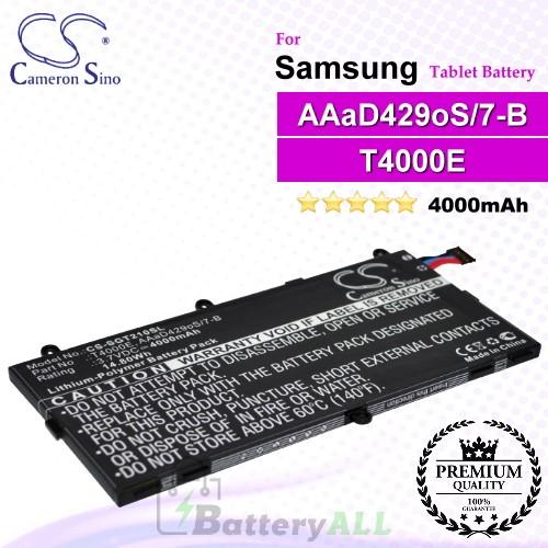 CS-SGT210SL For Samsung Tablet Battery Model AAaD429oS/7-B / GH43-03911A / T4000E