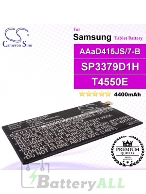 CS-SGT310SL For Samsung Tablet Battery Model AAaD415JS/7-B / SP3379D1H