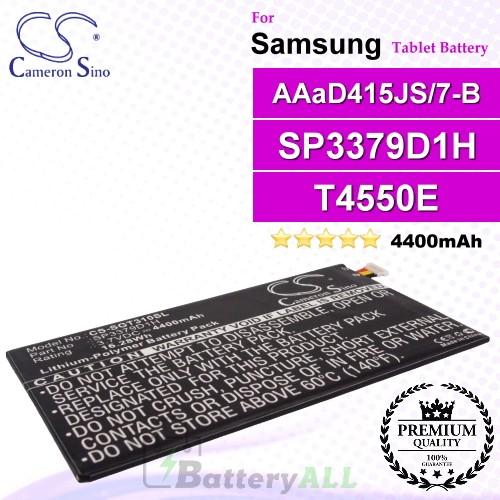 CS-SGT310SL For Samsung Tablet Battery Model AAaD415JS/7-B / SP3379D1H
