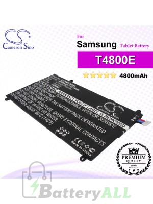 CS-SMT325SL For Samsung Tablet Battery Model T4800E
