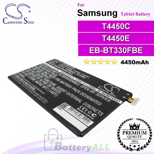 CS-SMT331SL For Samsung Tablet Battery Model T4450C / T4450E
