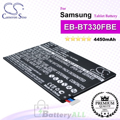 CS-SMT332SL For Samsung Tablet Battery Model EB-BT330FBE / GH43-04112A / GH43-04112B