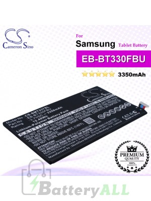 CS-SMT337SL For Samsung Tablet Battery Model EB-BT330FBU