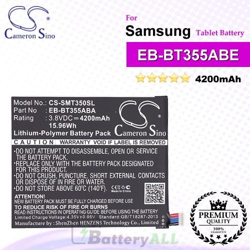 CS-SMT350SL For Samsung Tablet Battery Model EB-BT355ABA