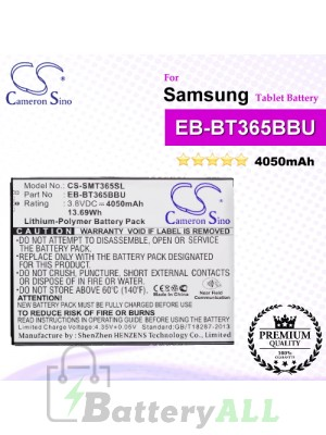 CS-SMT365SL For Samsung Tablet Battery Model EB-BT365BBC / EB-BT365BBU / EB-BT365BBUBUS / GH43-04317A