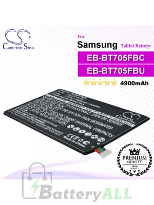 CS-SMT700SL For Samsung Tablet Battery Model EB-BT705FBC / EB-BT705FBE / EB-BT705FBU