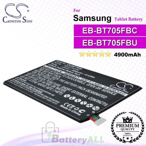 CS-SMT700SL For Samsung Tablet Battery Model EB-BT705FBC / EB-BT705FBE / EB-BT705FBU