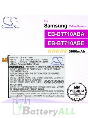 CS-SMT710SL For Samsung Tablet Battery Model EB-BT710ABA / EB-BT710ABE / GH43-04449A