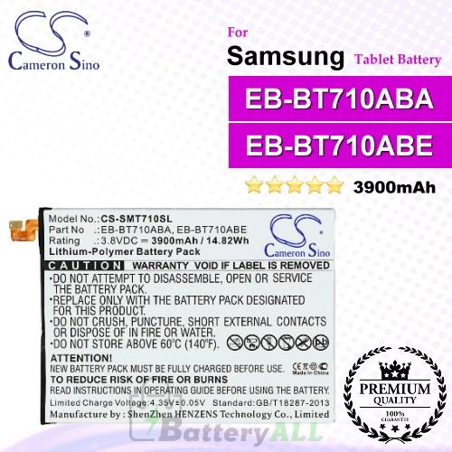 CS-SMT710SL For Samsung Tablet Battery Model EB-BT710ABA / EB-BT710ABE / GH43-04449A