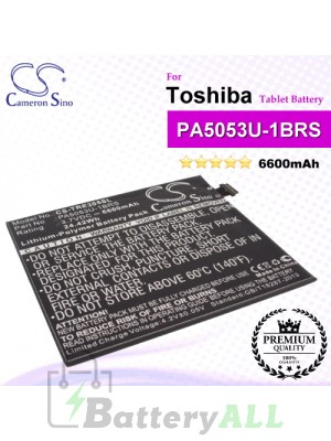 CS-TRE305SL For Toshiba Tablet Battery Model PA5053U-1BRS